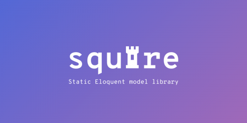 Squire: Static Eloquent Model Library