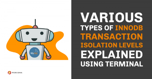 Various Types of InnoDB Transaction Isolation Levels Explained Using Terminal