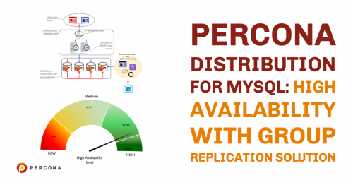Percona Distribution for MySQL: High Availability with Group Replication Solution