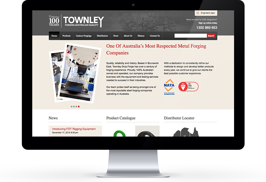 Townley Drop Forge folio image